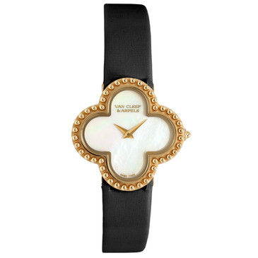 Van Cleef & Arpels 18K Yellow Gold Small Alhambra Watch VCARD22000