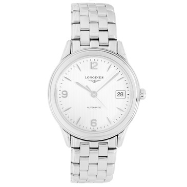 Longines Stainless Steel Flagship Automatic Watch L4.774.4