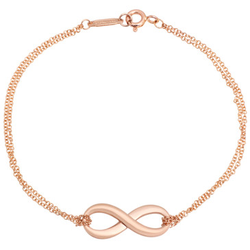 Tiffany & Co. 18K Rose Gold Infinity Bracelet