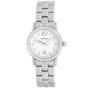 Montblanc Stainless Steel Meisterstuck Star Diamond Watch 7079