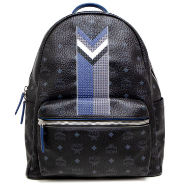 MCM Visetos Medium Studded Stark Backpack