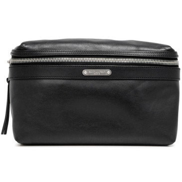 Saint Laurent Black Calfskin City Belt Bag