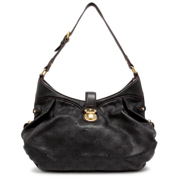 Louis Vuitton Black Monogram Mahina  XS