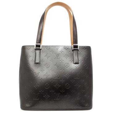 Louis Vuitton Graphite Monogram  Mat Stockton Tote