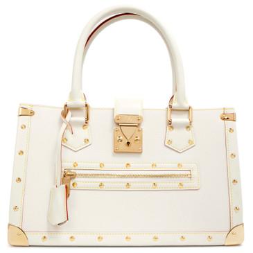 Louis Vuitton Blanc Suhali Le Fabuleux