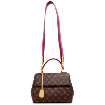 Louis Vuitton Bordeaux Fuchsia Monogram Cluny BB