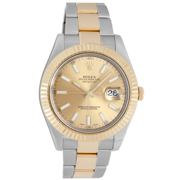 Rolex 18K & Stainless Steel Datejust II 116333