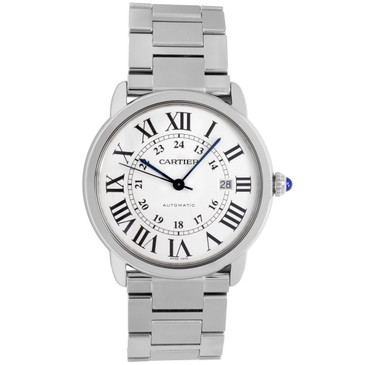 Cartier Stainless Steel Ronde Solo Automatic Watch W6701011