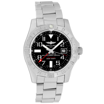 Breitling Stainless Steel Super Avenger II GMT A32390111B1A1