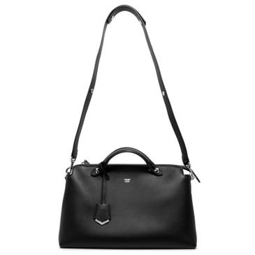 Fendi Black Calfskin Large By The Way Bag