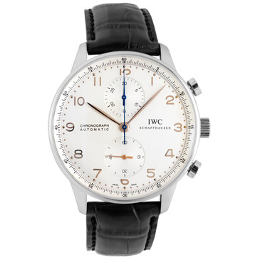 IWC Stainless Steel Portuguese Chronograph  IW371445