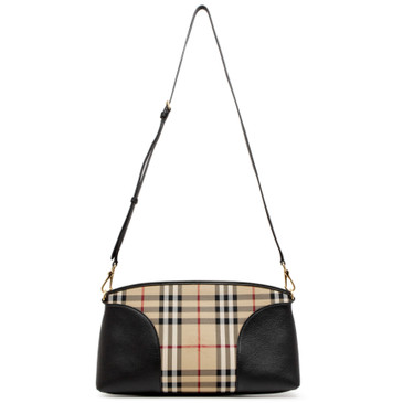 Burberry Horseferry Check Small Chichester Crossbody Bag