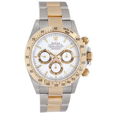 Rolex 18K Yellow Gold & Stainless Steel Cosmograph Daytona 16523