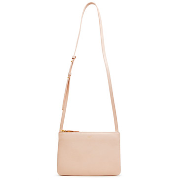 Celine Powder Liege Calfskin Small Trio Crossbody