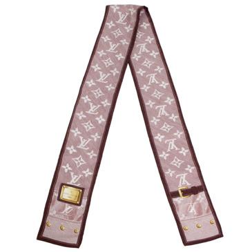 Louis Vuitton Cerise Silk New Denim Bandeau