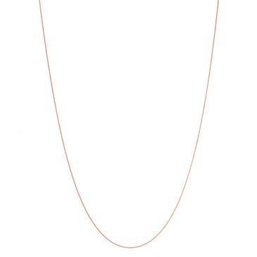 "Tiffany & Co. 18K Rose Gold 30"" Beaded Chain"