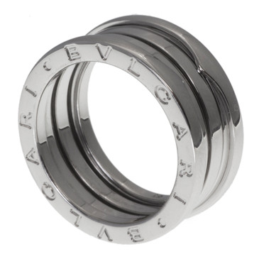 Bvlgari 18K White Gold B Zero 1 Three Band Ring