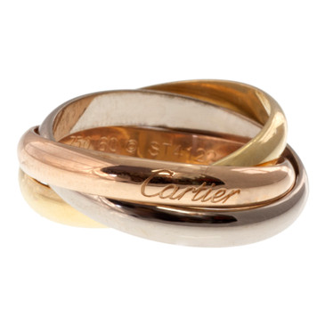 Cartier Gold Trinity Classic Ring