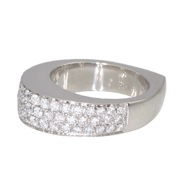 Piaget 18K White Gold Diamond Ring