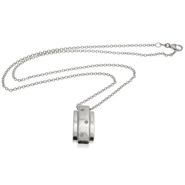 Piaget 18K White Gold Diamond Pendant