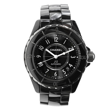 Chanel J12 Black Ceramic Automatic H0685 Watch