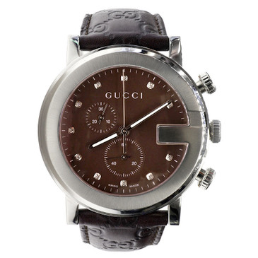 Gucci G Chrono 101M Stainless Steel Watch