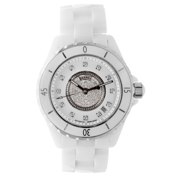 Chanel J12 White Ceramic Diamonds Watch H1759