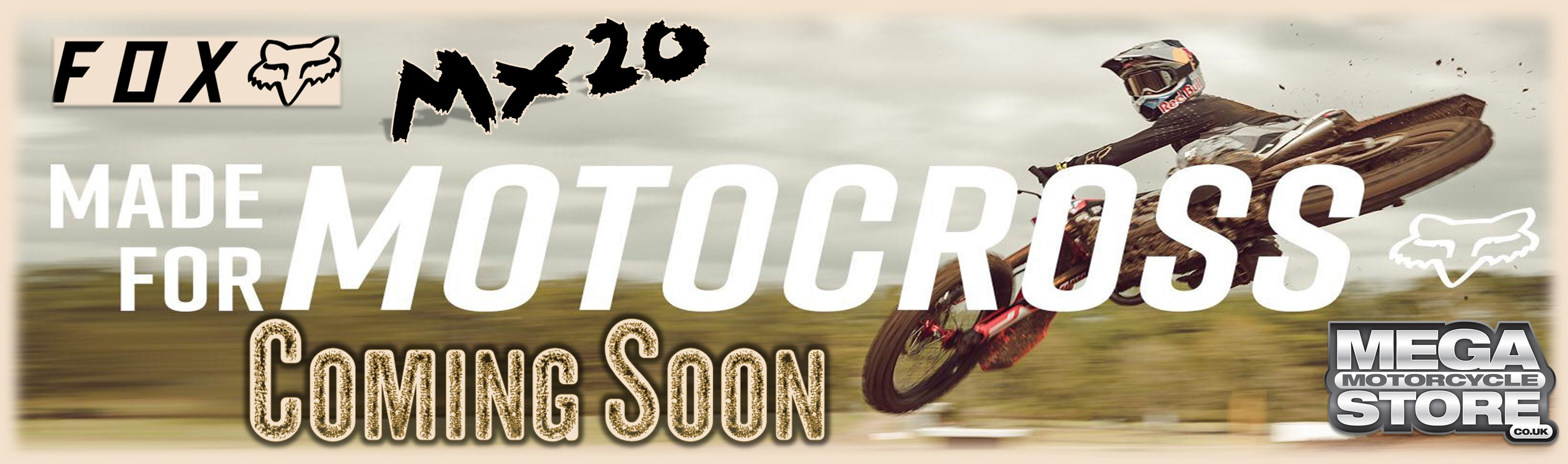 Fox MX20 - Made for MOTOCROSS - COMING SOON