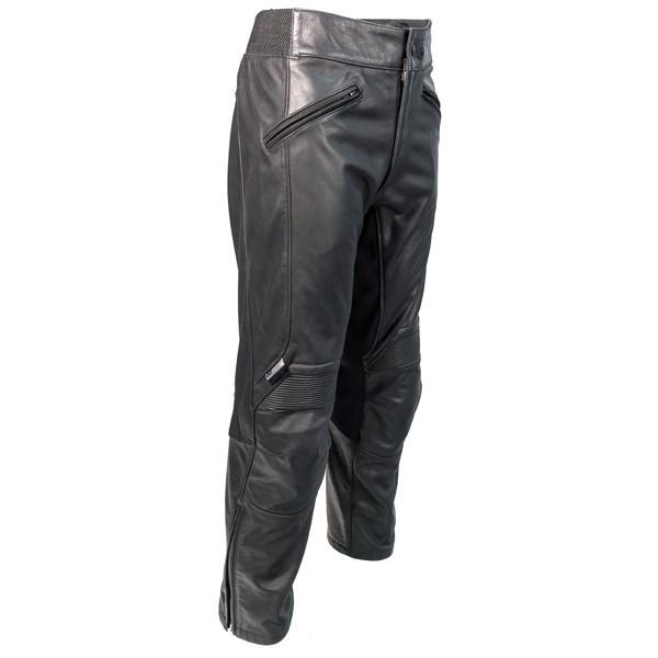 Richa Cafe Trousers Regular Leg - Black