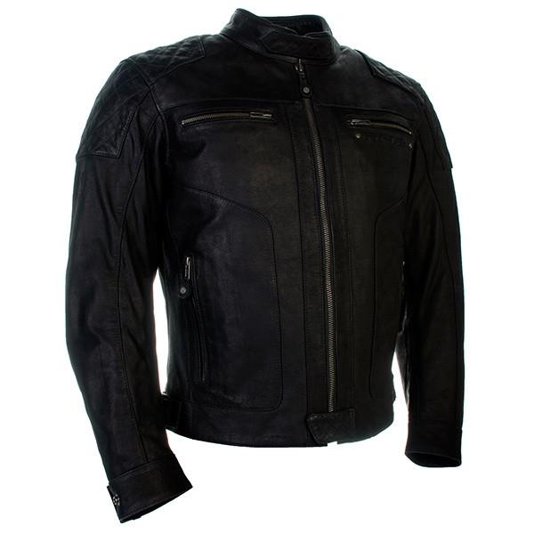 Richa Detroit Leather Jacket - Black