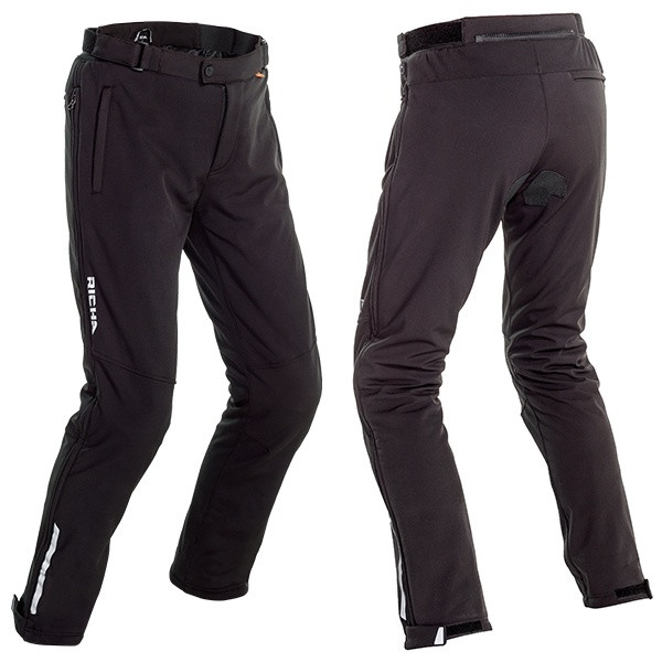 Richa Colorado 2 Pro Ladies Laminated Pant Short - Black