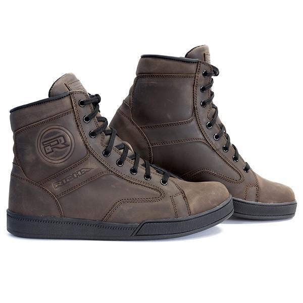 Richa Rocky Waterproof Short Boots - Brown