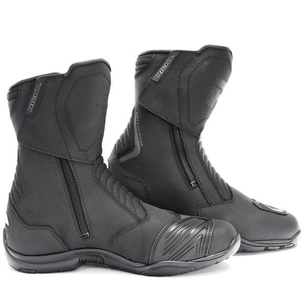 Richa Nomad Evo Short Waterproof Boots - Black