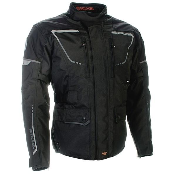 Richa Phantom 2 Ladies Textile Jacket - Black