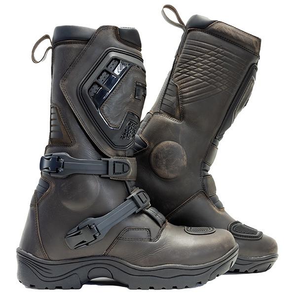 Richa Colt Long Adventure Boots - Brown