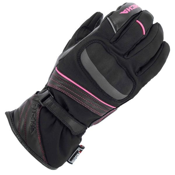 Richa Ella Ladies Waterproof Gloves - Black / Pink