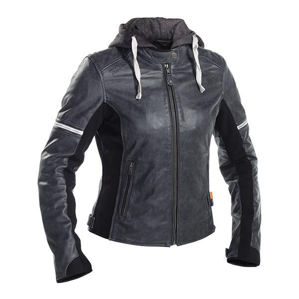 Richa Toulon 2 Ladies Leather Jacket - Grey