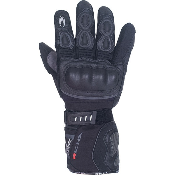 Richa Arctic Hipora Men's Waterproof Gloves - Black