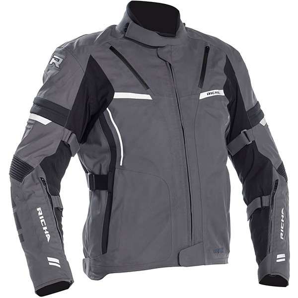 Richa Arc Laminated Goretex Men's Textile Jacket - Grey