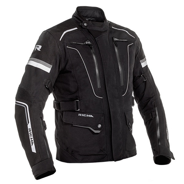 Richa Infinity 2 Pro Laminated Ladies Textile Jacket - Black / Black