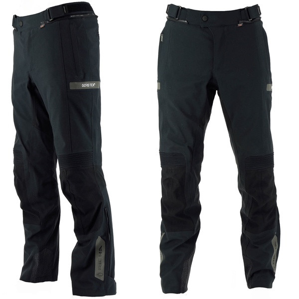 Richa Atlantic Laminated Goretex Men's Trousers Short - Black