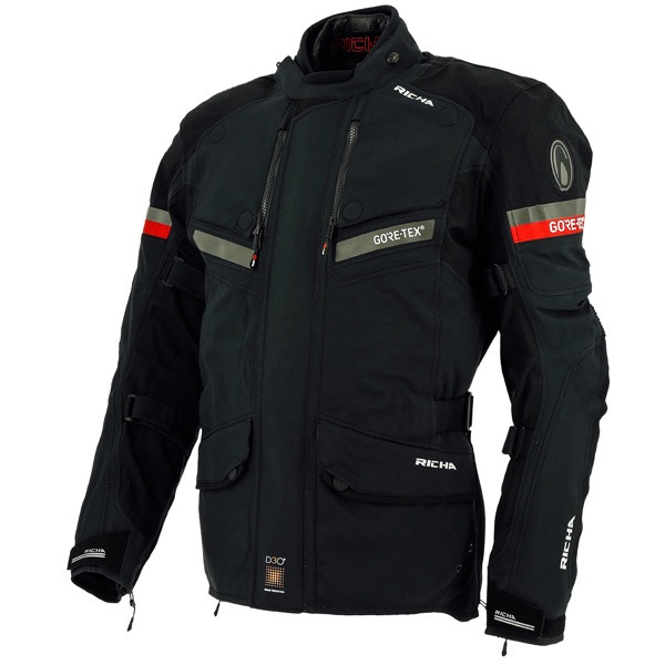 Richa Atlantic Laminated Goretex Men's Jacket - Black