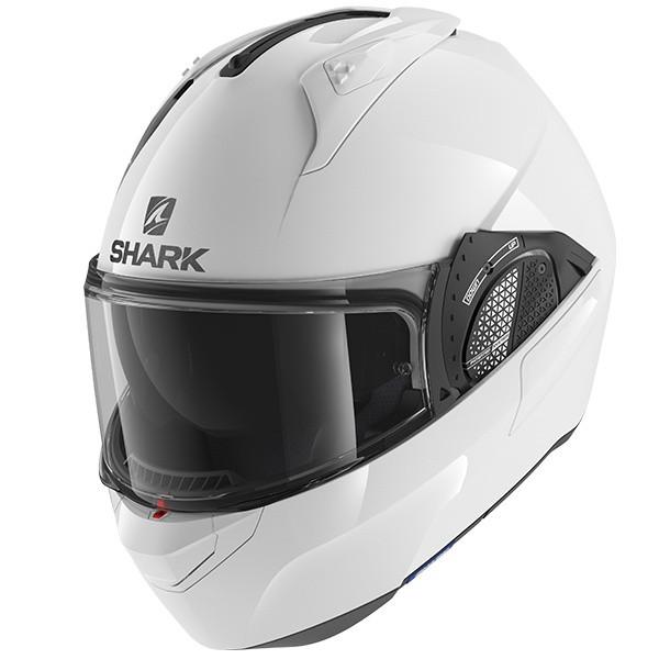 Shark Evo GT Flip Front Helmet Blank - White