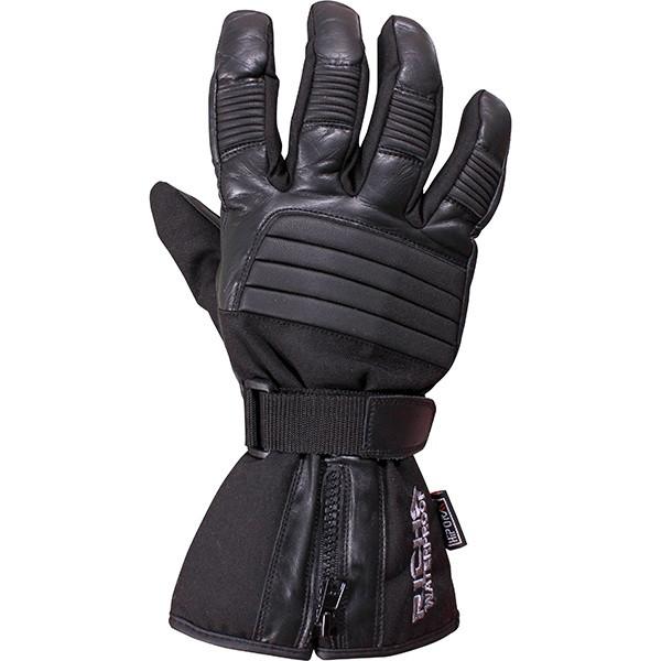 Richa 9904 Ladies Leather Textile Waterproof Gloves - Black