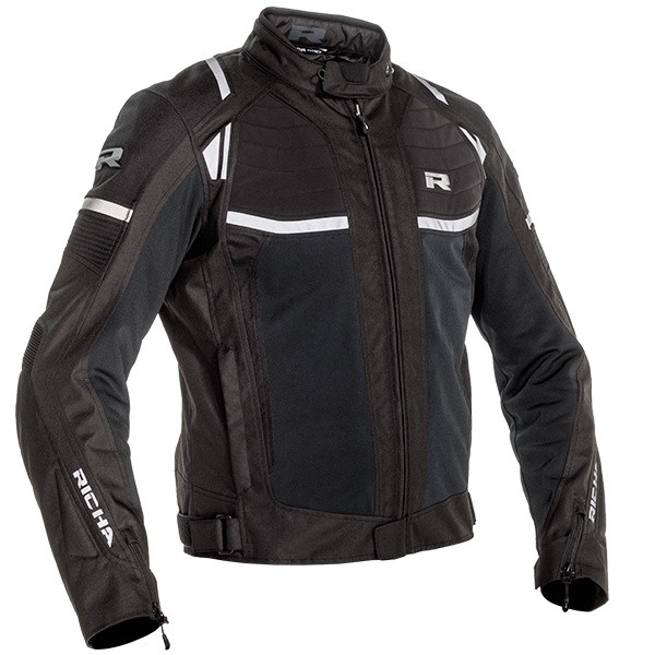 Richa Airstream X Waterproof Mesh Jacket - Black