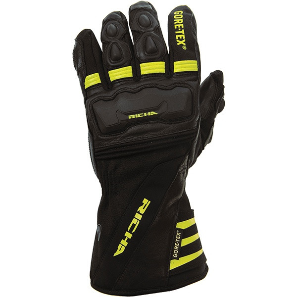 Richa Cold Protect GoreTex Gloves - Black / Yellow