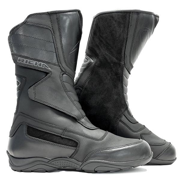 Richa Vapour Waterproof Boots - Black