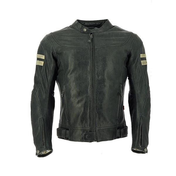 Richa Hawker Buffalo Leather Jacket - Grey