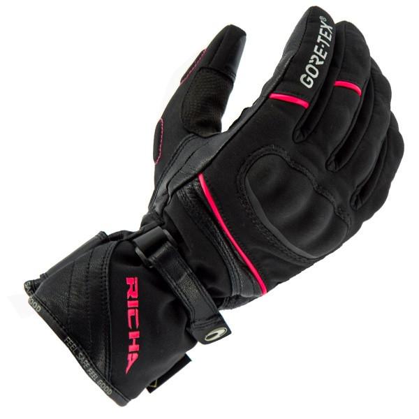 Richa Diana Gore-Tex Gloves - Black / Pink