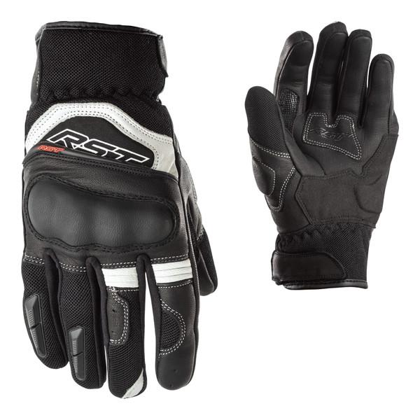 Urban Air II CE Leather Ladies Short Gloves - Black / White
